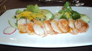 Danzante Shrimp & Avocado Salad